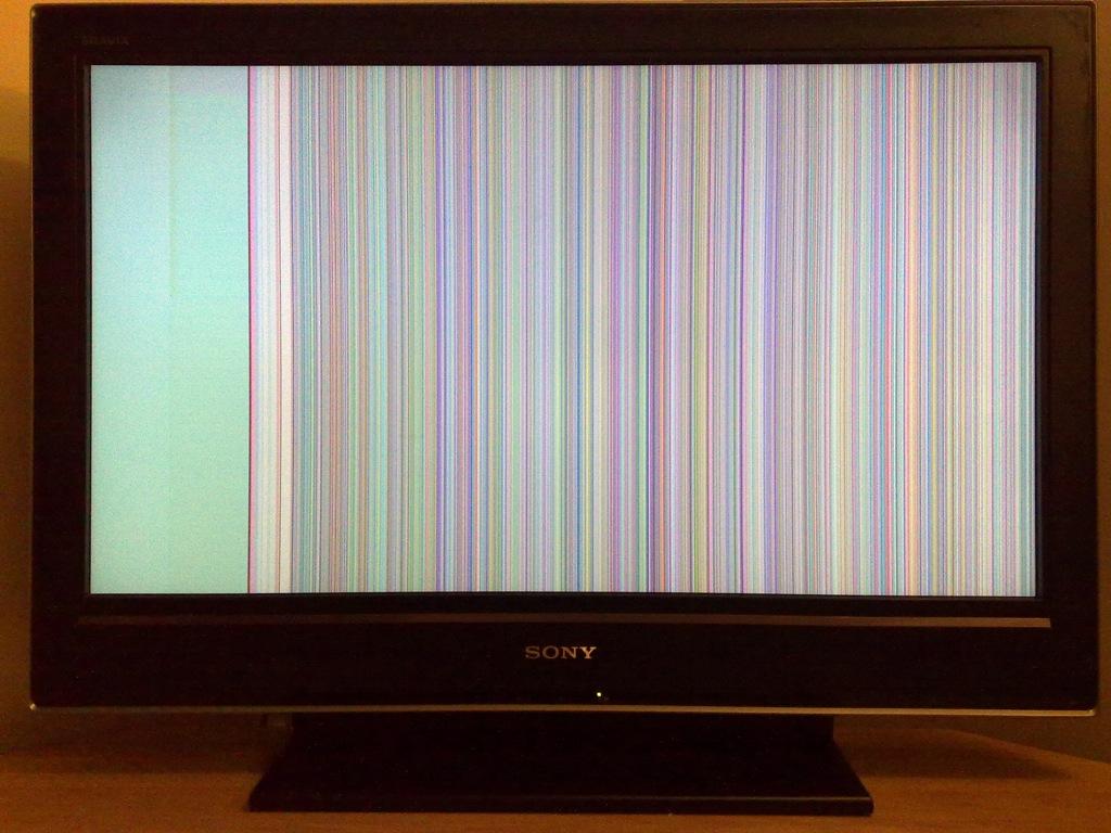Sony Bravia KDL-32D3000 - Purple vertical line! faulty?   AVForums