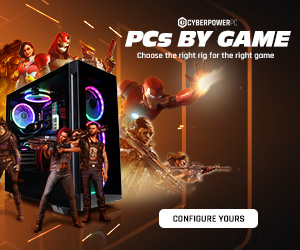 Cyberpower PCs by game