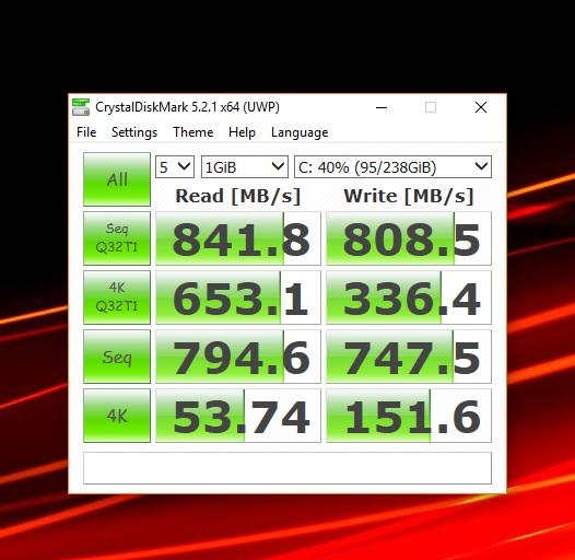 Samsung Nvme 950 pro ( very slow speeds ) | AVForums