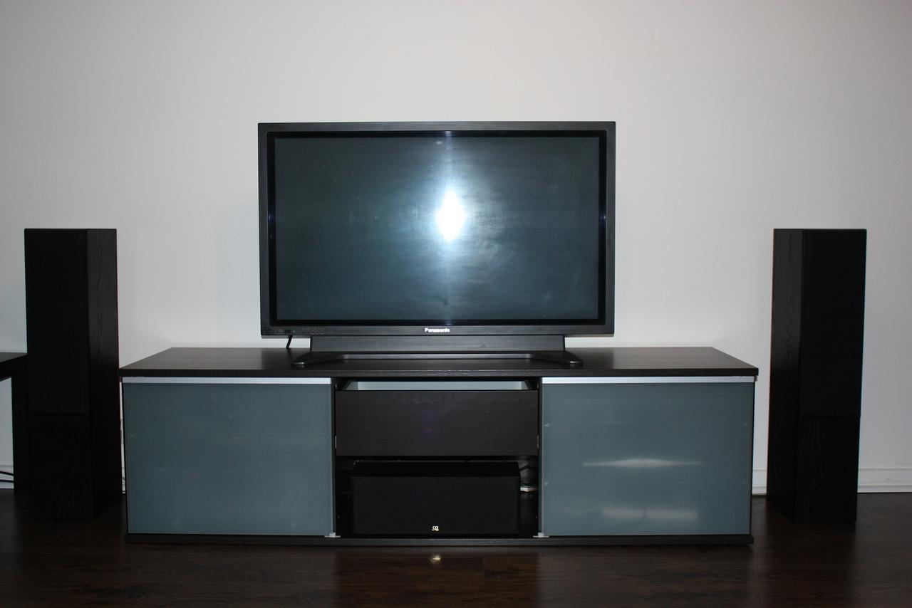 Finally Got A Tv Cabinet With Centre Speaker Area Avforums