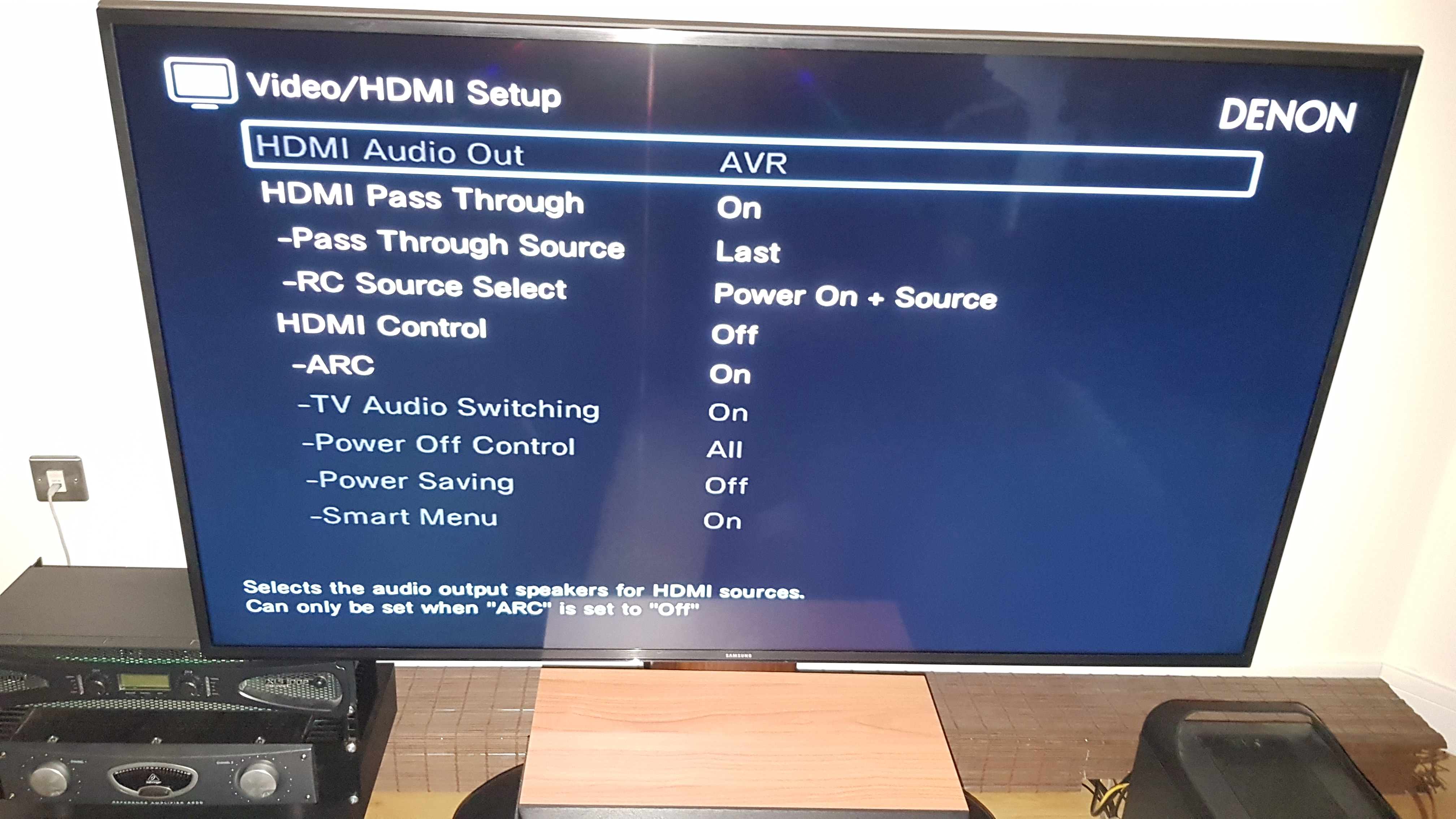Answered - Denon AVR 1400 always turns on to