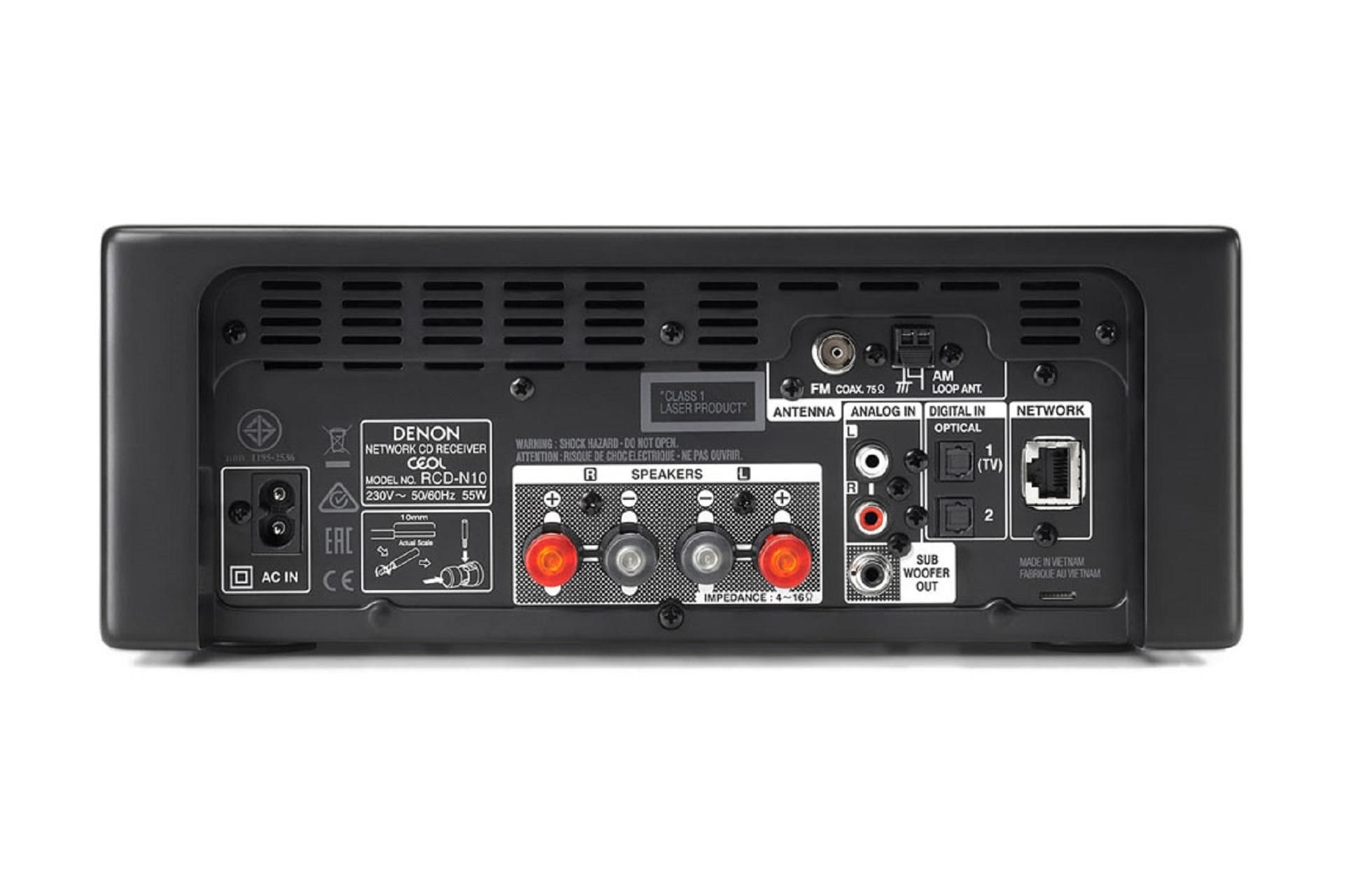 Can I connect a Denon CEOL RCD-N10 CD player to my AEGO