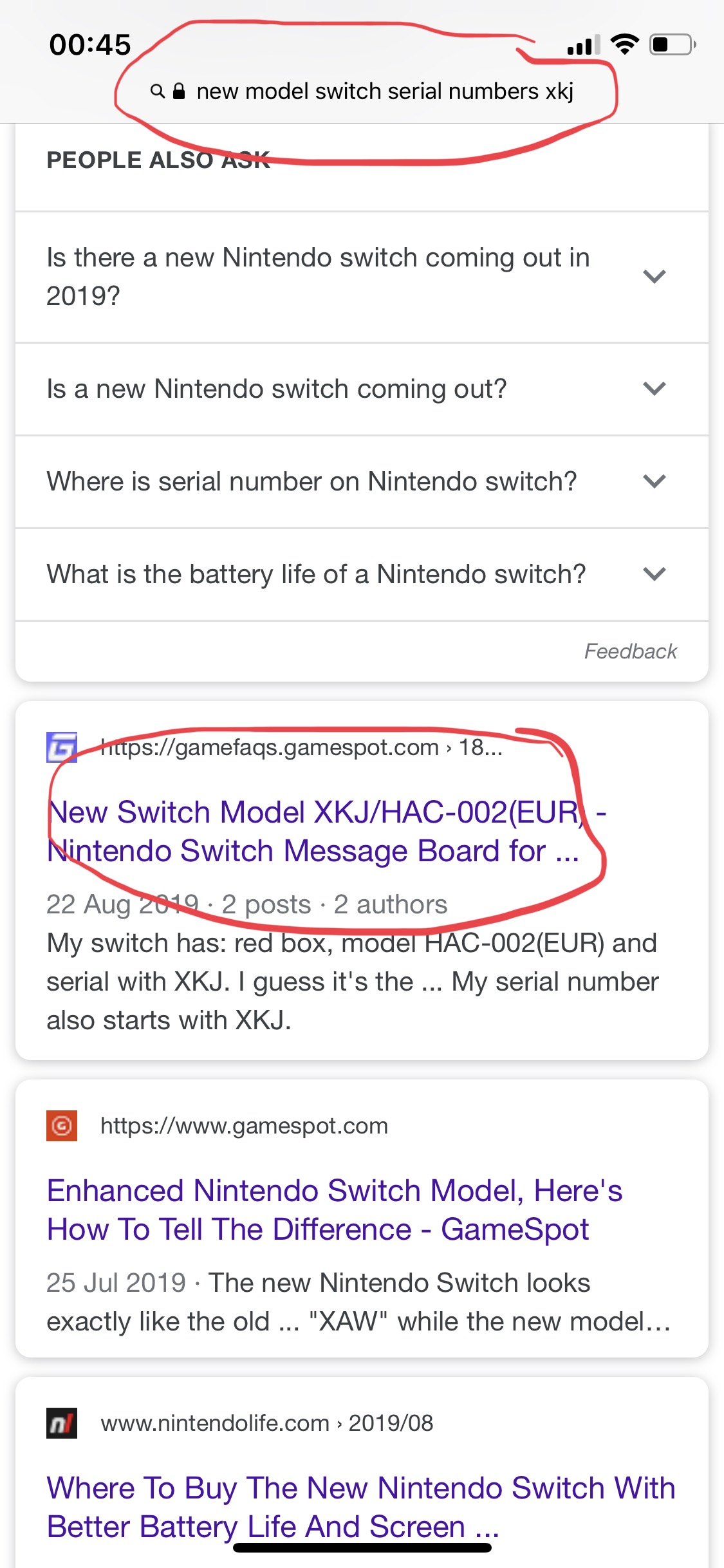 Question - Help and advice, new 1 1 Switch, what three