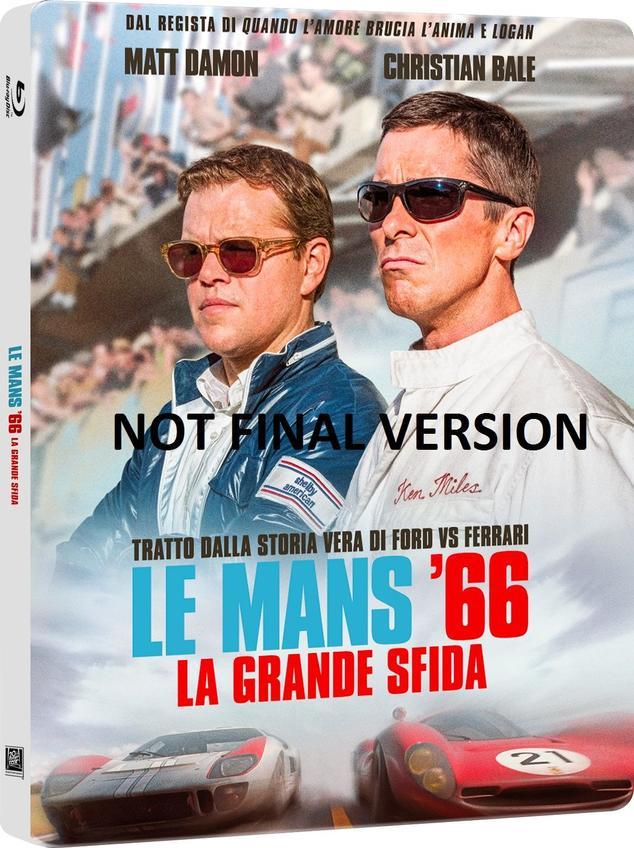 Le Mans 66 Ford V Ferrari 4k Blu Ray Steelbook Fr It De Nl Es Avforums