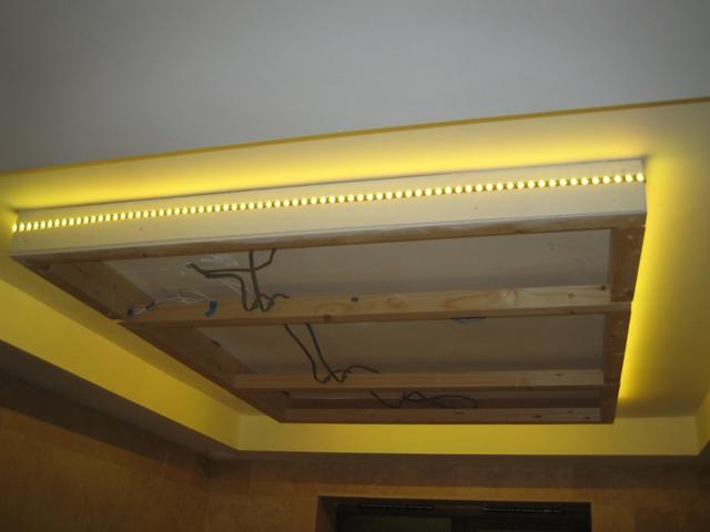 False ceiling led strip idea advice needed avforums ceiling 1g aloadofball Images