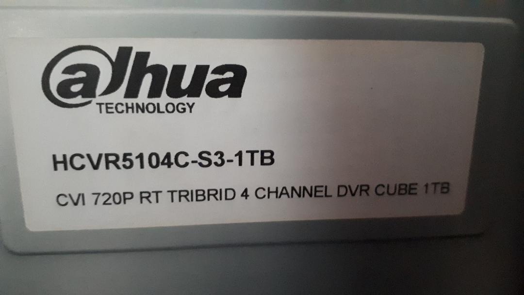 Dahua HCVR5104c-S3-1TB-Why is unit beeping | AVForums