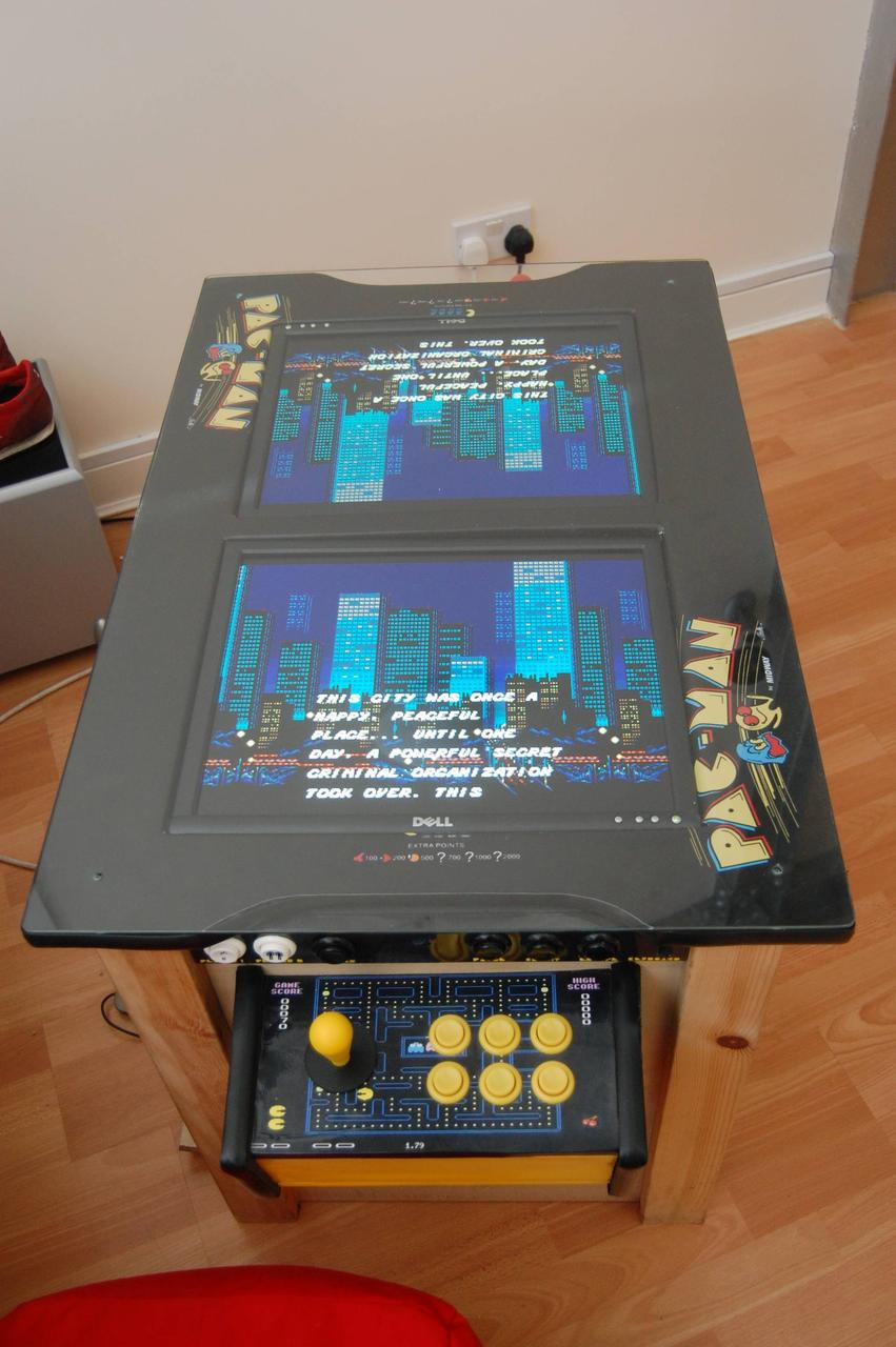 My Dual Screen MAME Cocktail Unit! | AVForums