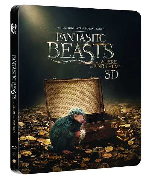 0e1d81b50e Fantastic Beasts and Where to Find Them (HMV Exclusive) (2D/3D Blu-ray  Steelbook)