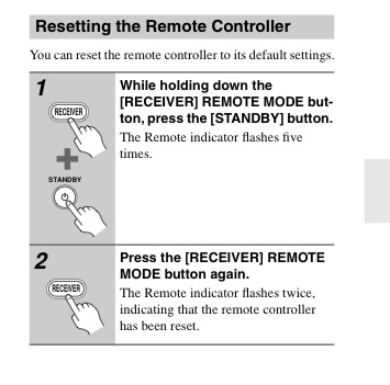 onkyo 875 not responding to the remote  | AVForums