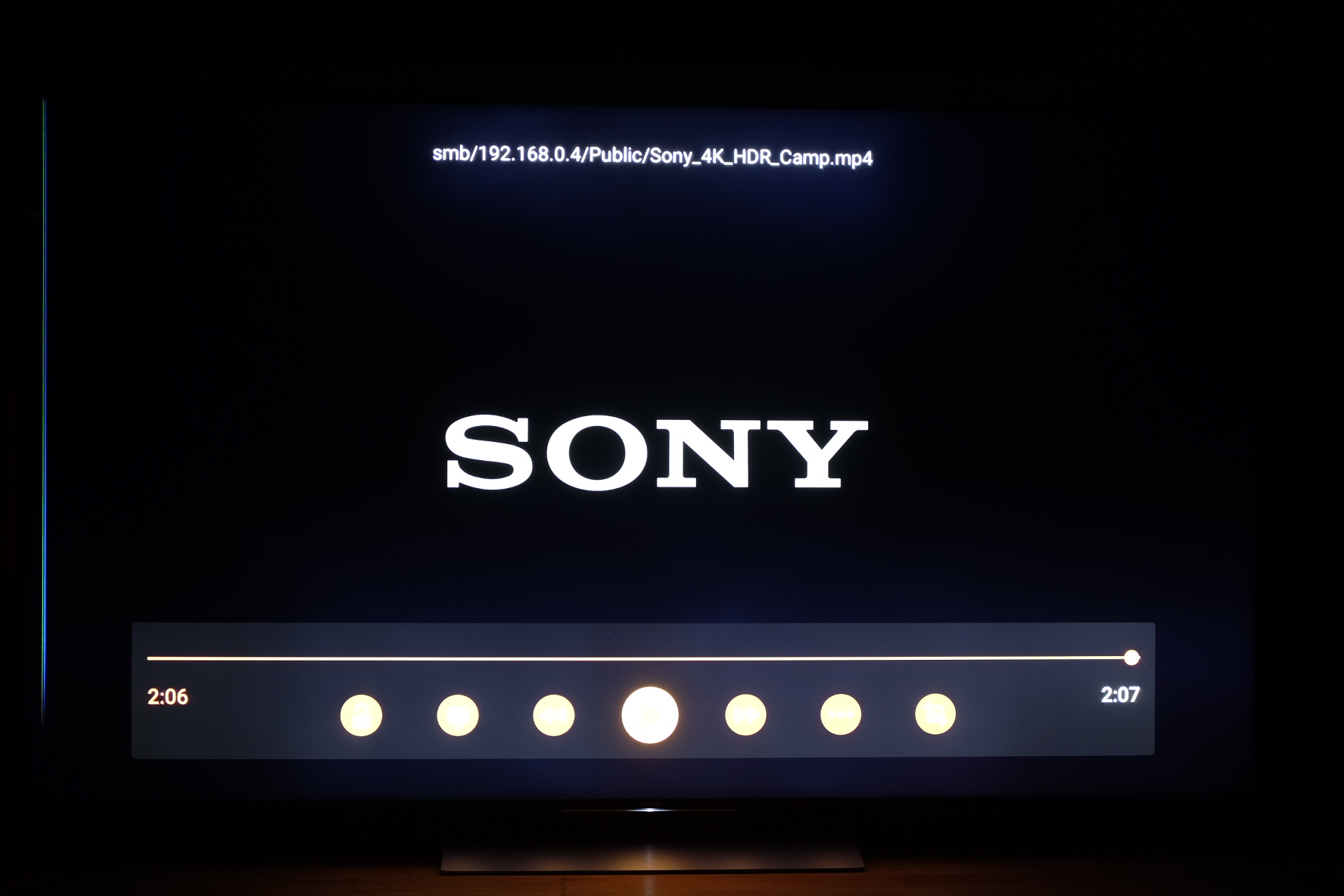 Sony Camp 4k Hdr