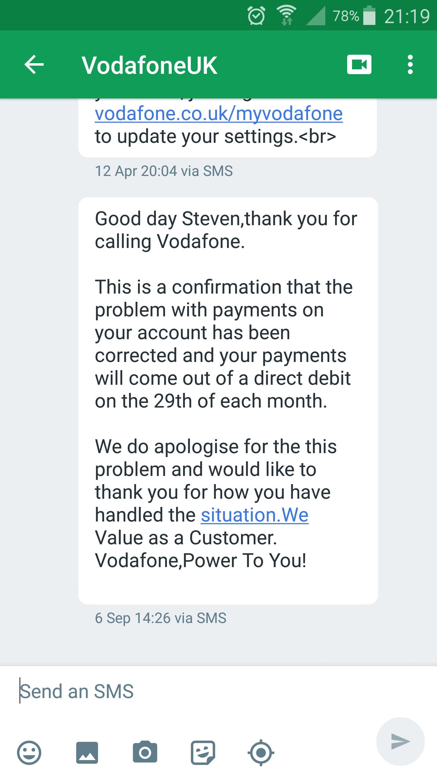 My Vodafone Experience | AVForums