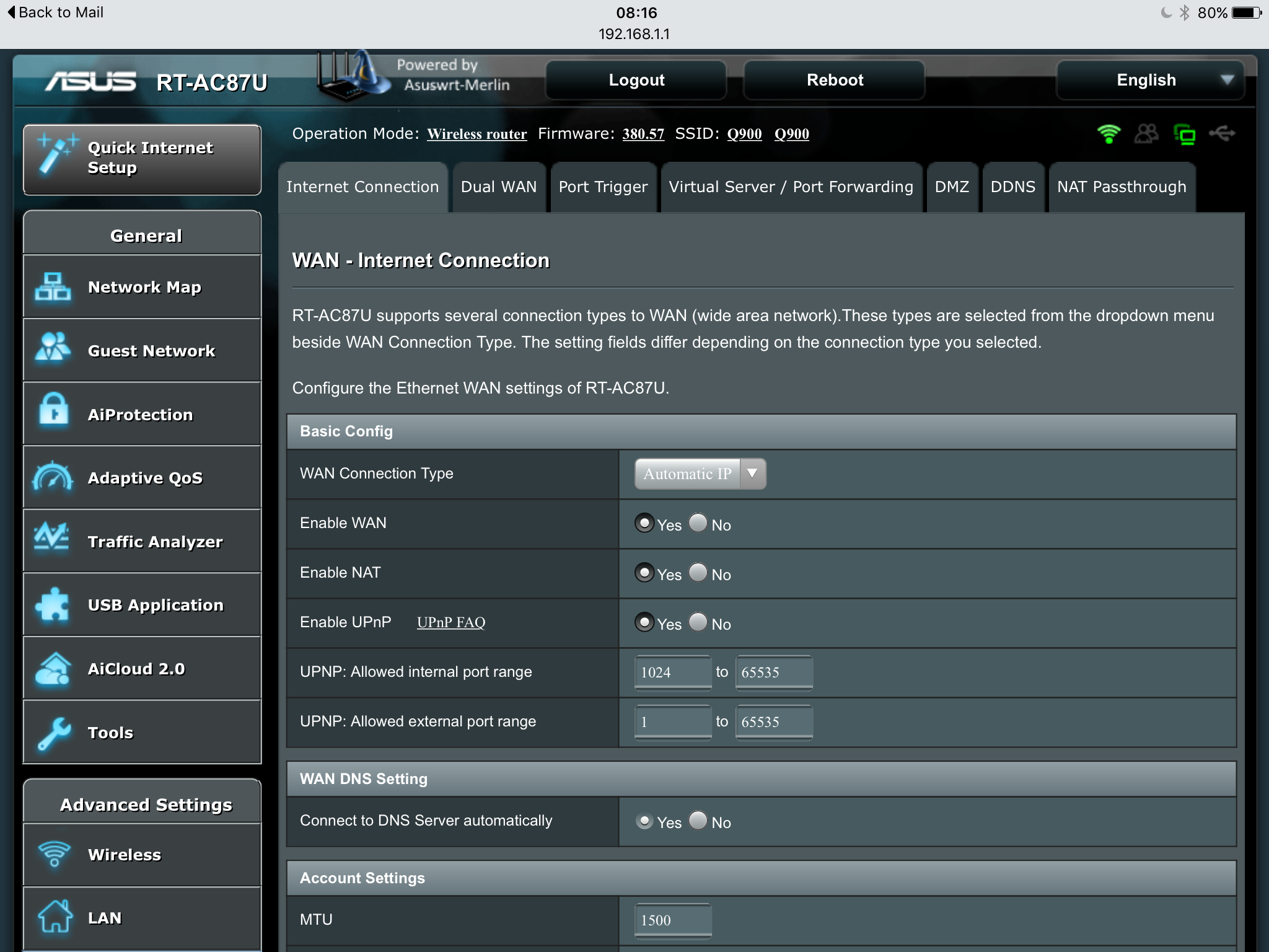 Sky Router Settings >> How To Replace Sky Sr102 With Another Router Sky Fibre