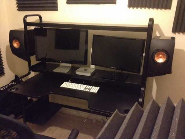 The perfect desk for music producers  I found it! | AVForums