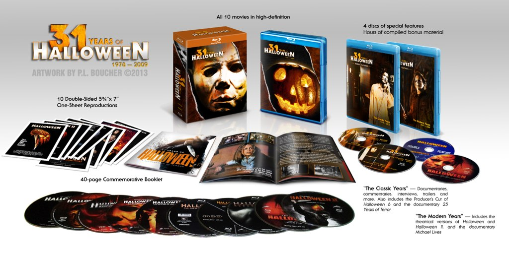 Halloween Blu Ray Box Set.Halloween The Complete Collection Bluray Avforums