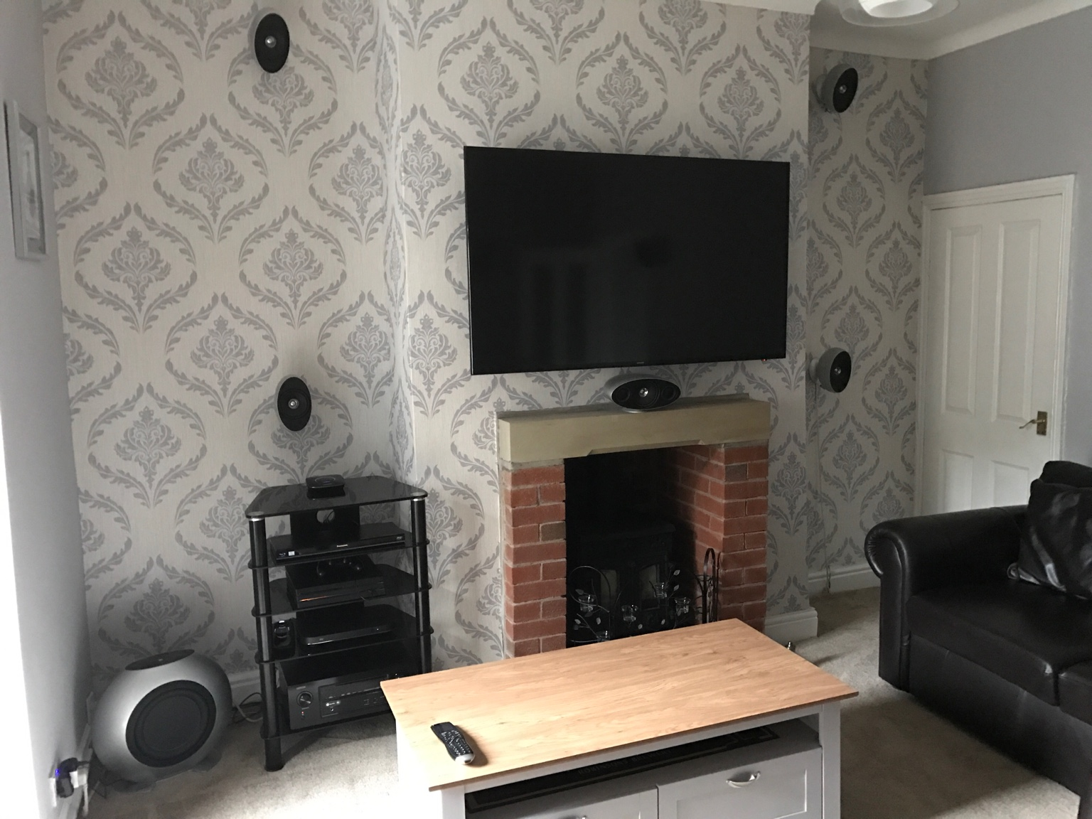 Question Reasonable Speakers For Atmos Wall Mounted