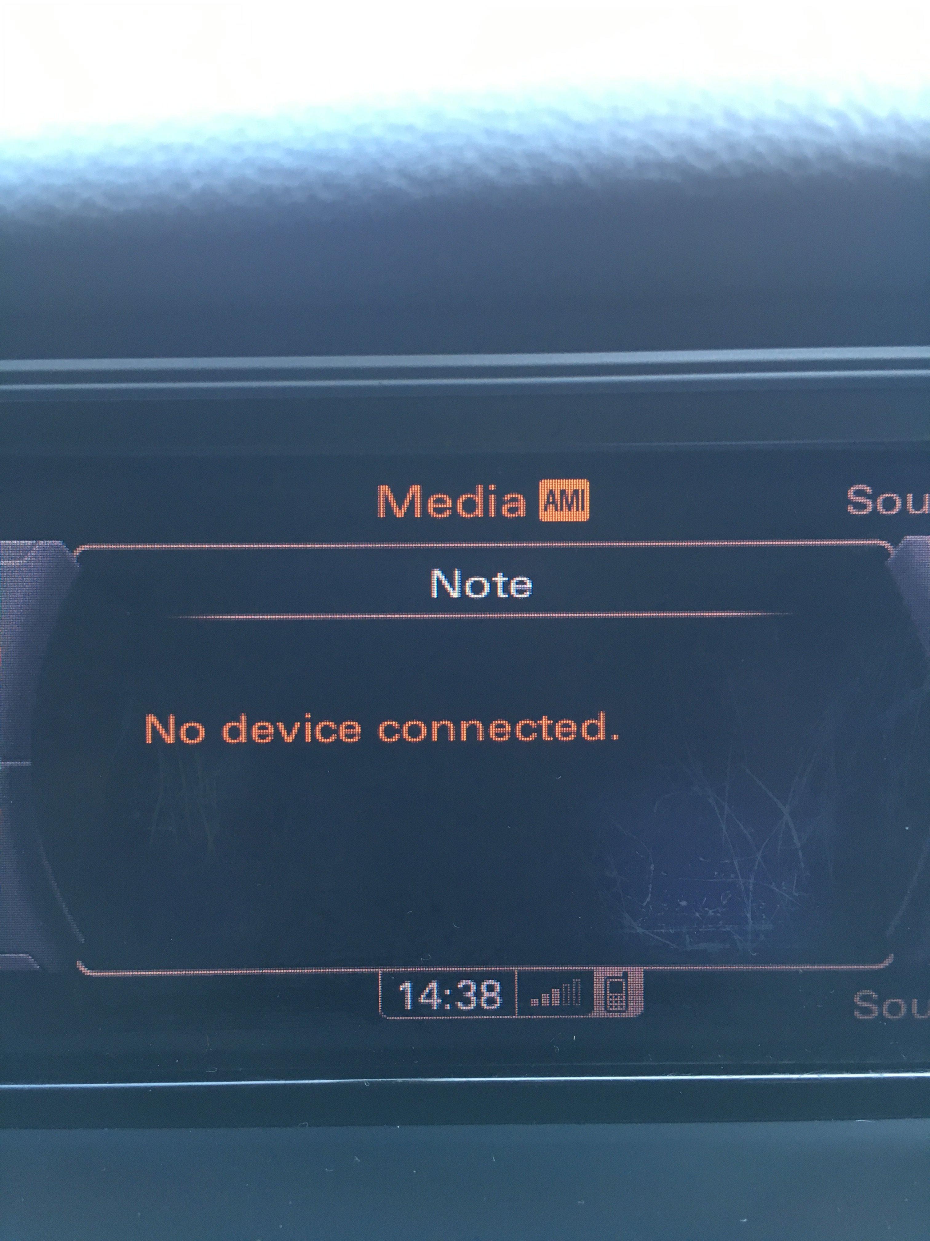 Audi A4 2011 Technik Bluetooth Music Player Avforums