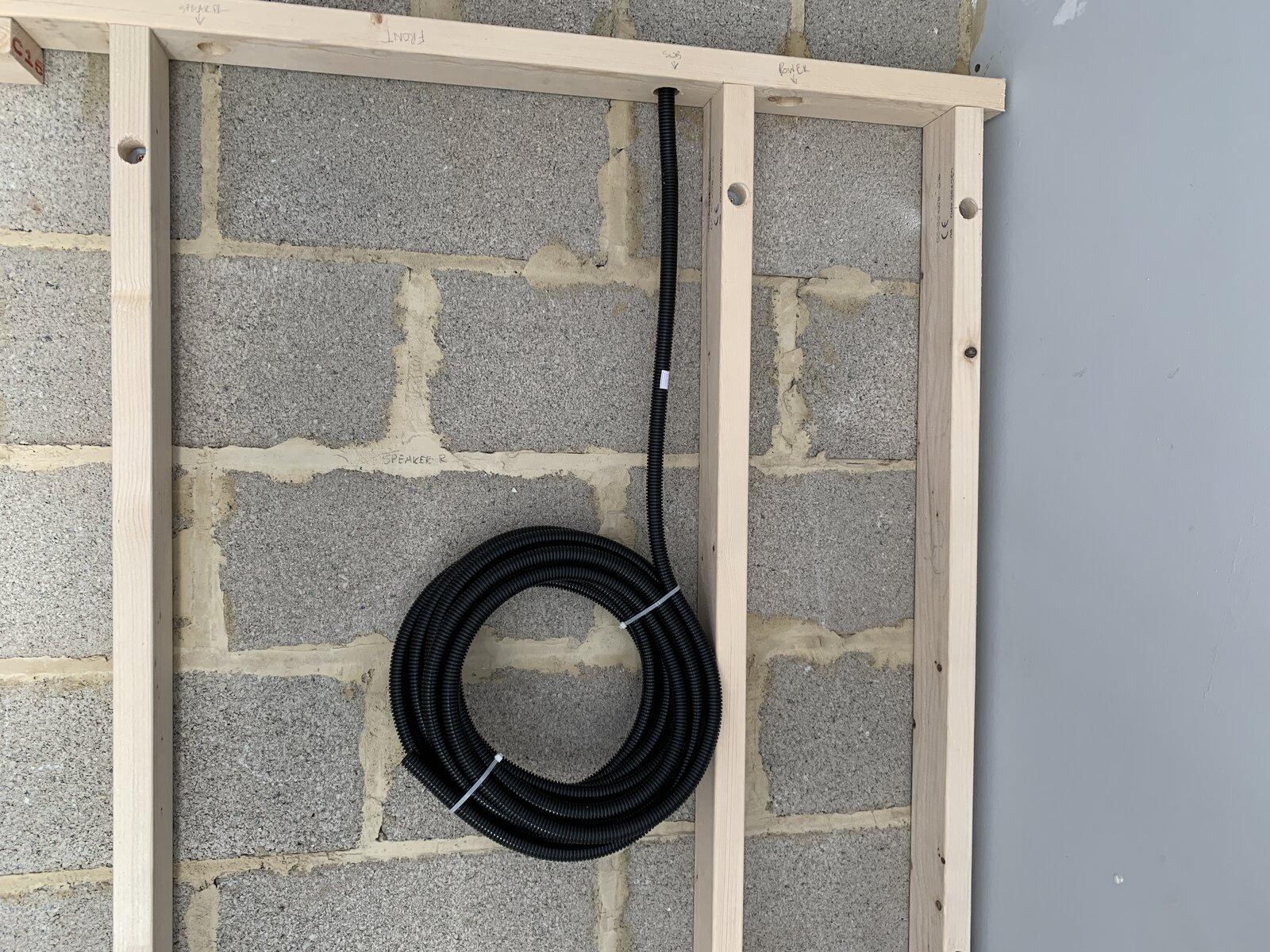 speaker wire flexible conduit