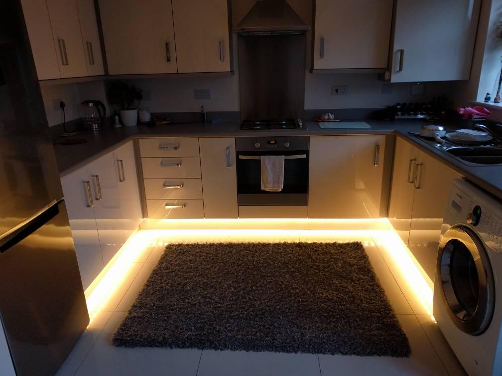 Question Kitchen Plinth Kickboard Lighting Avforums