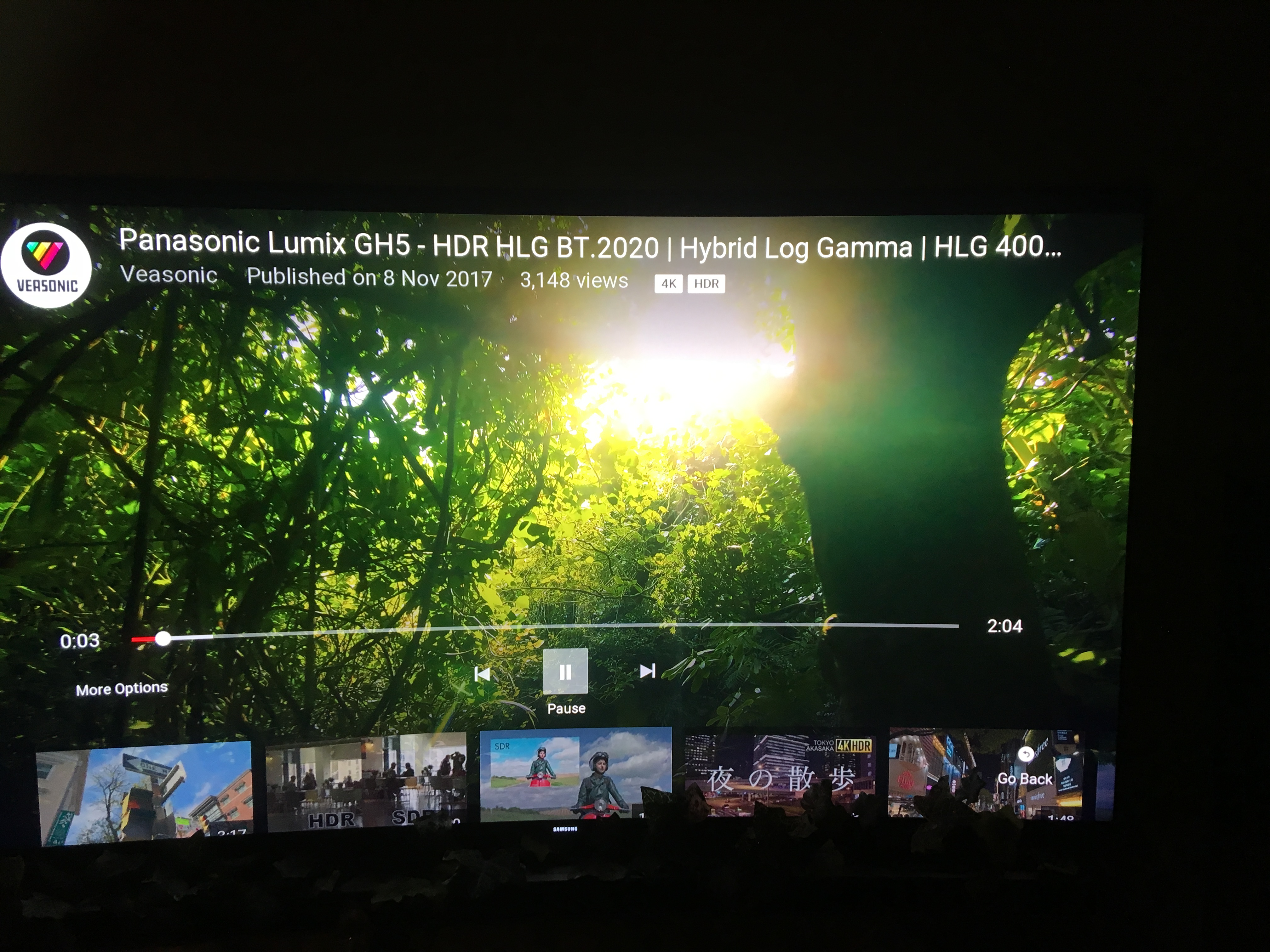 The BBC claim that the ROKU 3810EU has support for HLG