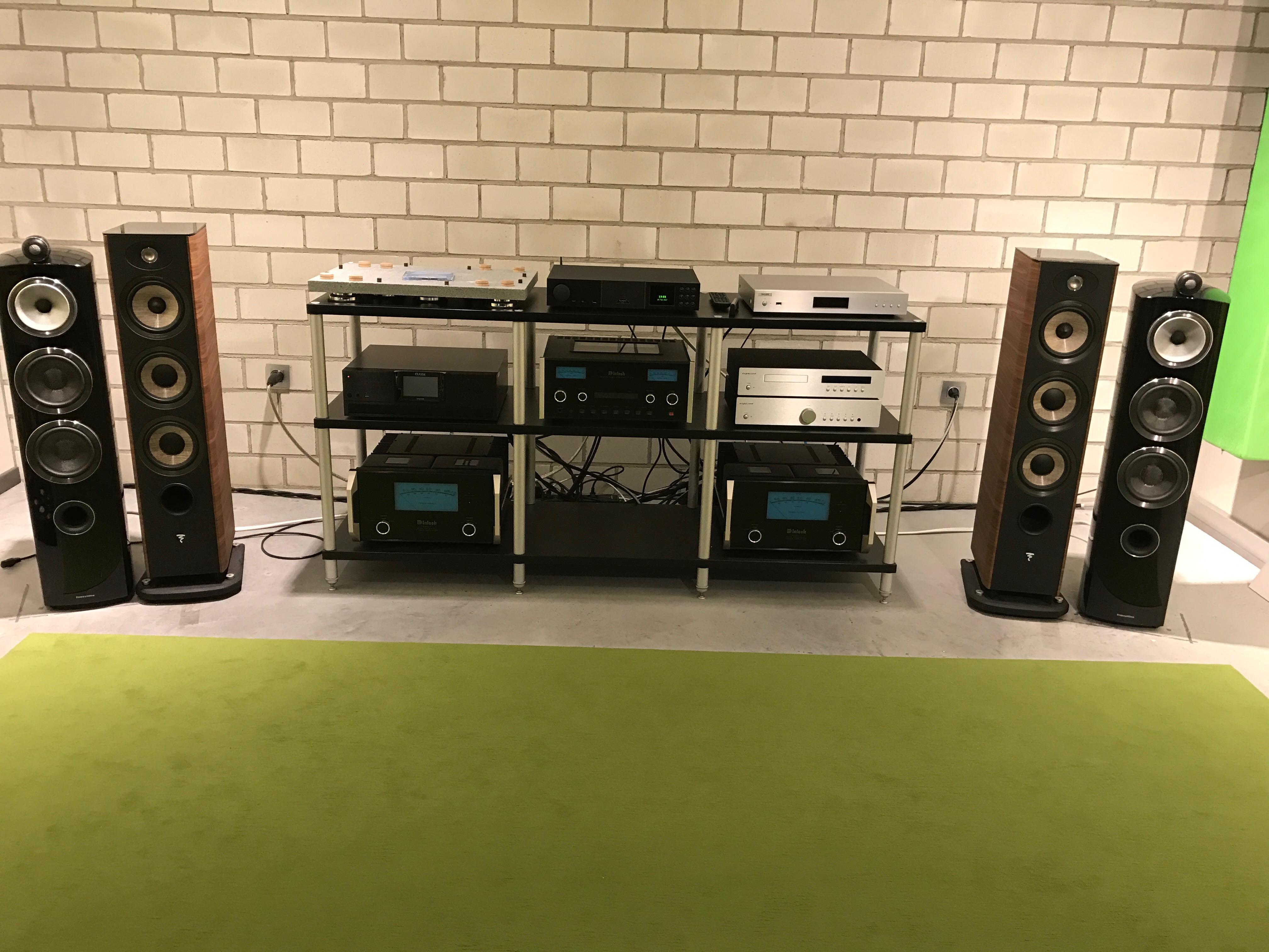 New speakers 2017 - B&W cm8, Cabasse Java, Focal Aria 926
