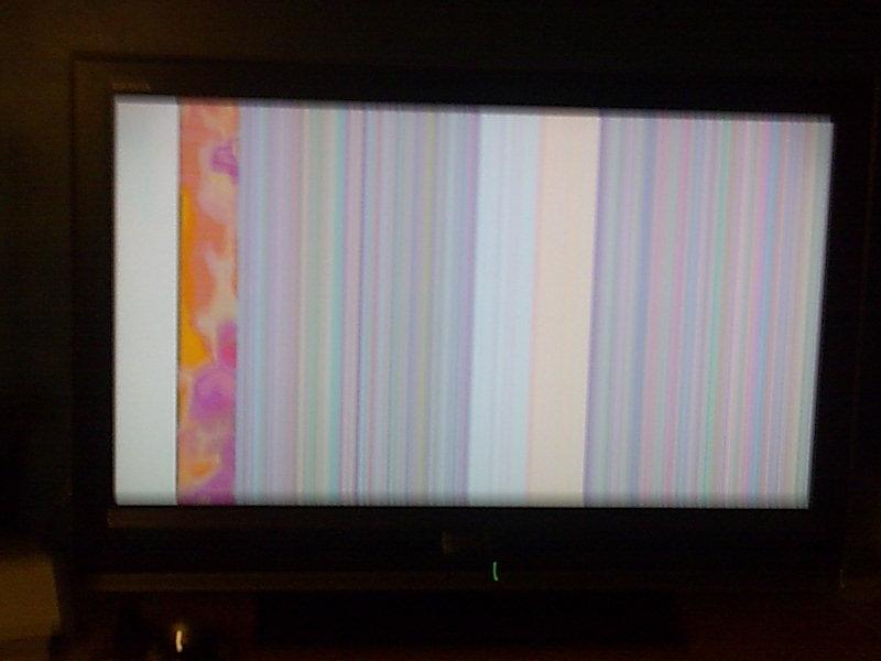 Sony Bravia KDL-32D3000 - Purple vertical line! faulty