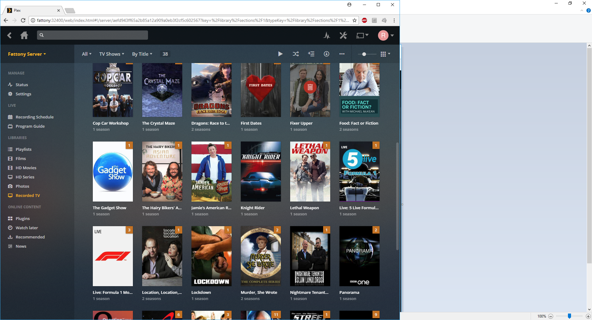 Plex - Freeview HD IPtv with HDHomeRun and 4K HDR Media