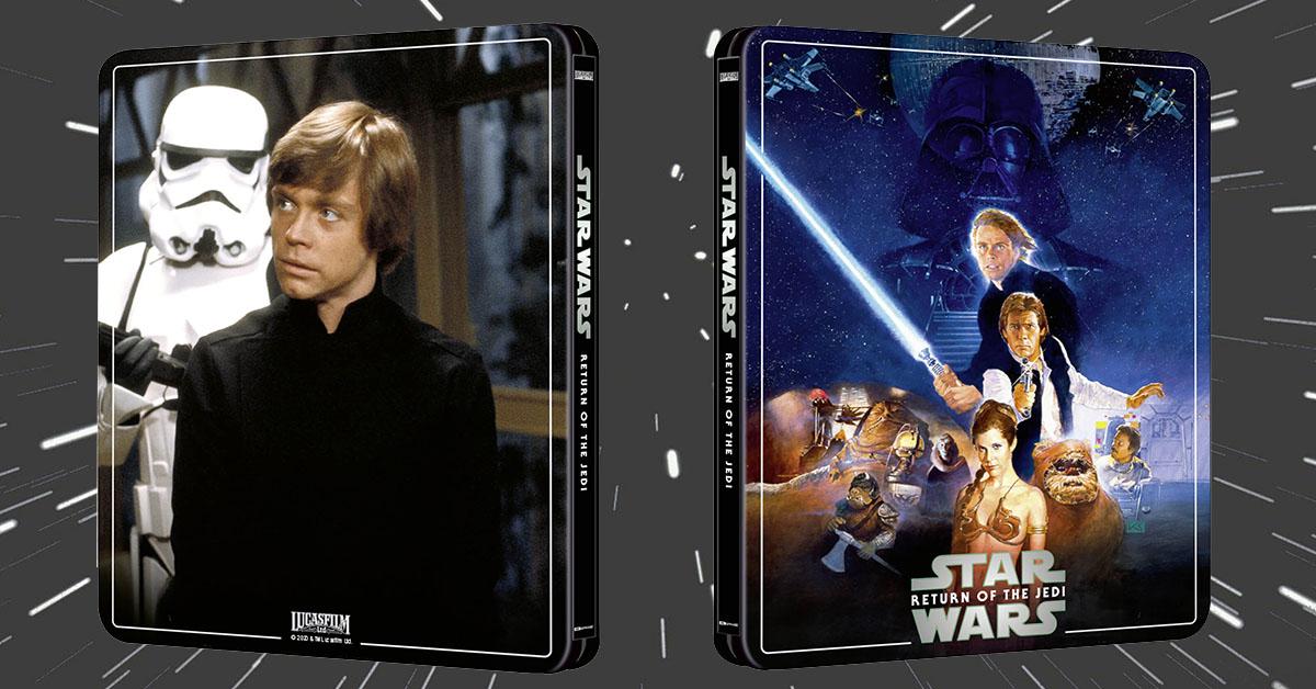 Star Wars Episode Vi Return Of The Jedi Zavvi Exclusive 4k Uhd Blu Ray Steelbook Page 2 Avforums