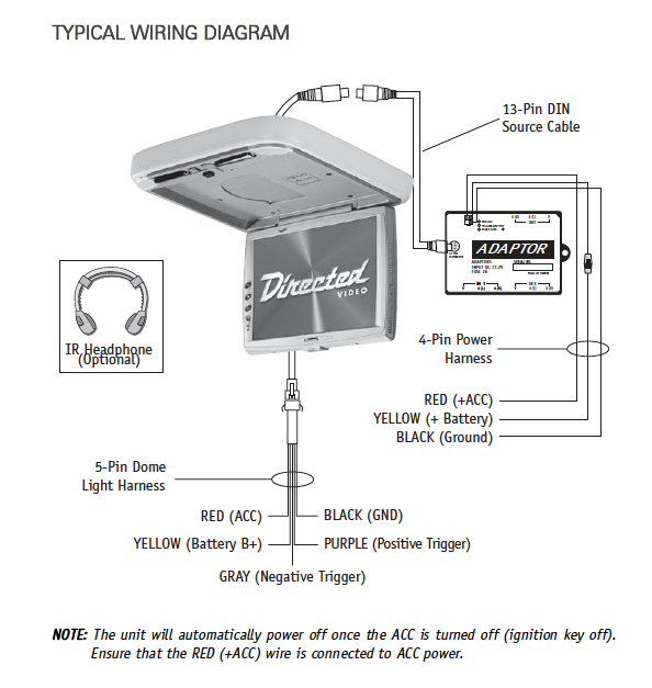 overhead dvd player wiring diagram adapter for overhead dvd required  ad 6874   avforums  overhead dvd required  ad 6874