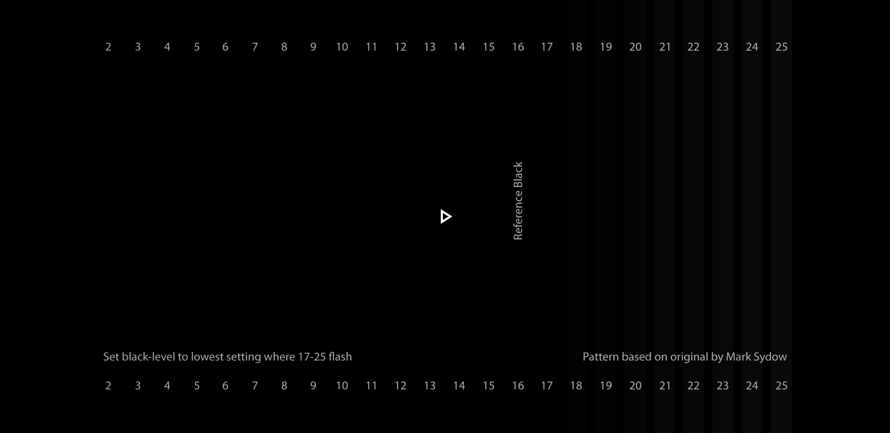 Answered - How to set best brightness (black level) on OLED