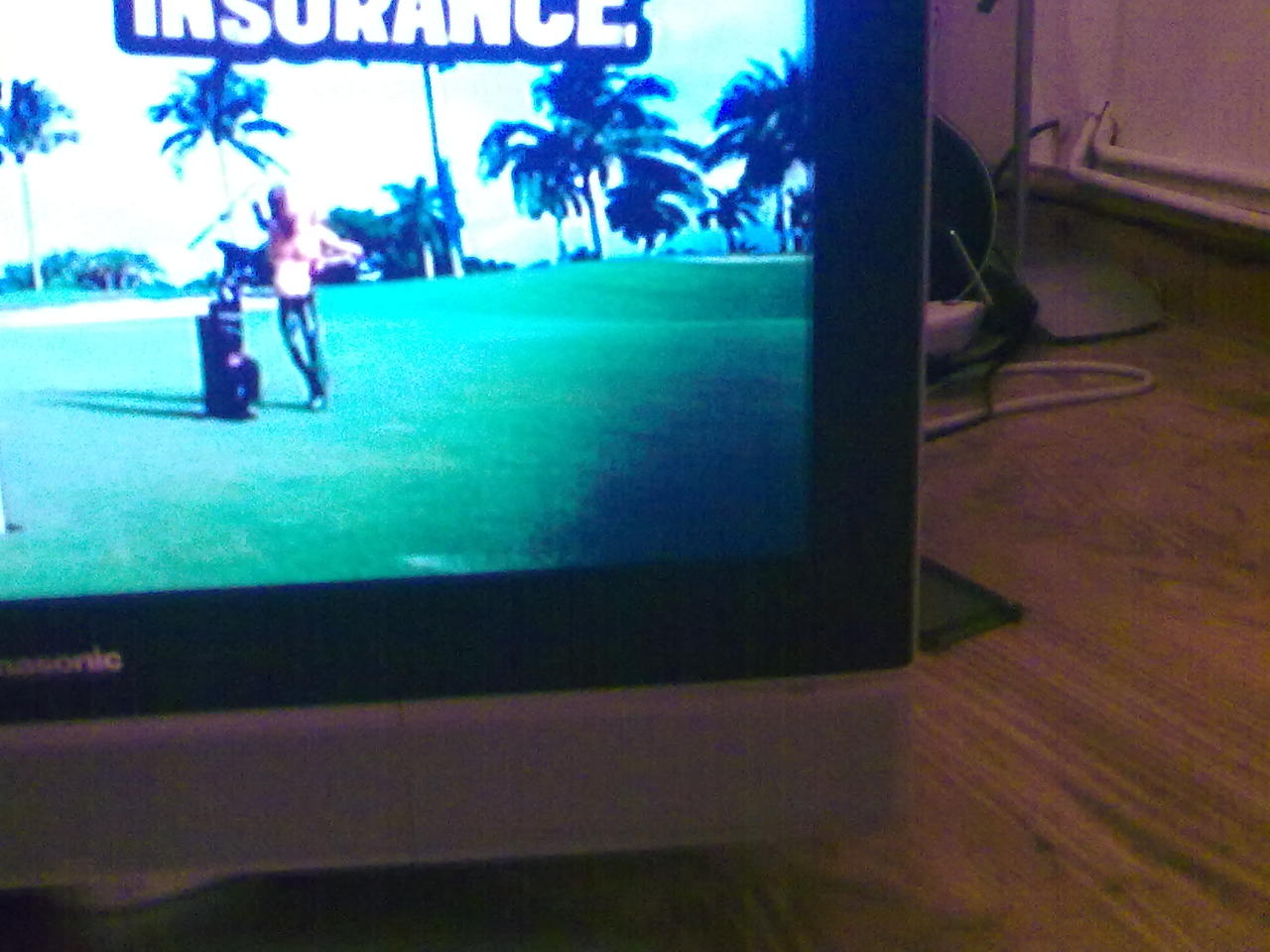 Dark shadow on screen - Panasonic TX26LXD25   AVForums