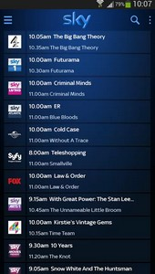 Sky adds Fox, Universal and SyFy to on-Demand roster and