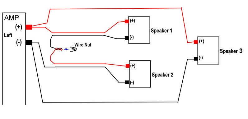 series speaker wiring diagram wiring automotive wiring diagram series parallel wiring six speak… two speakers per channel parallel or series avforumsrhavforums series speaker wiring diagram at elf
