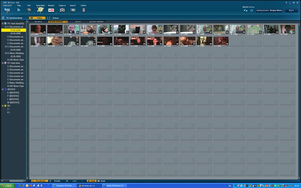 Panasonic Hd Writer Ae 4.1