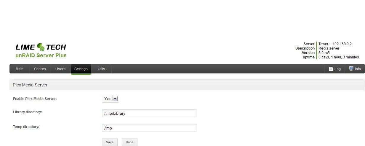 Plex Media Server on Unraid NAS   AVForums