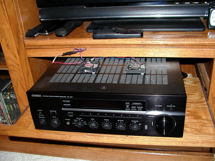 Entry level amplifier or receiver that doesn't get too warm