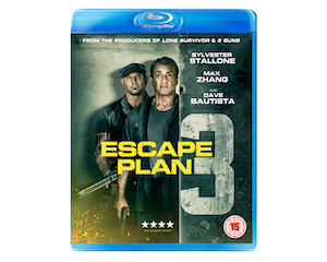 Win a copy of Escape Plan 3 on Blu-ray