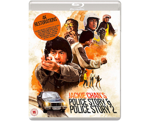 Win a copy of Jackie Chan's Police Story & Police Story 2 on Blu-ray