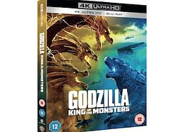 Win a copy of Godzilla: King of the Monsters on 4K Ultra HD