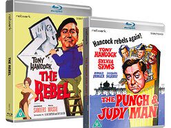 Win copies of The Rebel & The Punch and Judy Man on Blu-ray