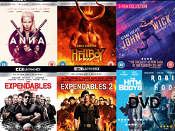 Win a Christmas 4K Blu-ray Action Bundle from Lionsgate