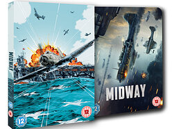 Win a copy of Midway on Limited Edition 4K Steelbook