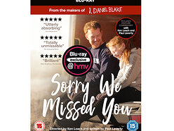 Win a copy of Sorry We Missed You on Blu-ray