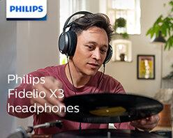 Win Philips Fidelio X3 headphones worth £299