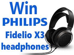 Philips Fidelio X3 Headphones Competition