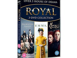 Win a copy of the Royal Three DVD Collection