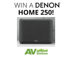 Win a Denon Home 250 with AV Online!