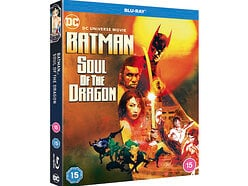 Win a copy of Batman: Soul of the Dragon on Blu-ray