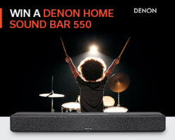 Win a Denon Home Sound Bar 550 worth £599
