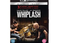 Win a copy of Whiplash on 4K Ultra HD