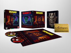 Win a copy of Demons 1 & 2 on Limited Edition Blu-ray